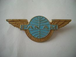 Insigne Compagnie Aérienne PAN AM - Crew Badges
