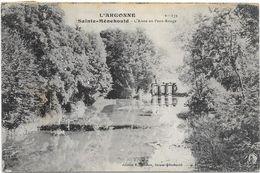 SAINTE MENEHOULD : L'AISNE AU PONT ROUGE - Sainte-Menehould