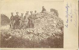 Themes Div-ref EE867 - Carte Photo - Militaires - La Cime Bajdaritza - Juin 1913- - Postcards