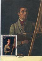 55176  Niger Maximum 1968 Painting Of Jean Baptiste Corot,  Self Portrait - Impressionisme
