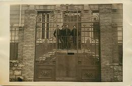 - Loire -ref-B147- Saint Jean Soleymieux - St Jean Soleymieux - Carte Photo Darves Blanc - St Etienne - Militaria - - Saint Jean Soleymieux