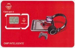 NICARAGUA CLARO GSM (SIM) CARD CHIP INTELIGENTE MINT UNUSED - Nicaragua