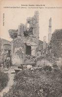 55 Louppy Le Chateau. Les Ruines De L'eglise - France