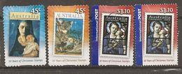 Australia 200- Noel Christmas Obl (the 1.10 Stamp 2 Different Perforations) - Gebruikt