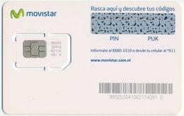 NICARAGUA MOVISTAR GSM (SIM) CARD MINT UNUSED - Nicaragua
