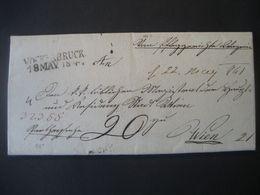 Österreich 1841- Ab Vöcklabruck 18. Mai 1841- An Wien 21 Am 22. Mai 1841, Schöner Vorphilabrief - Österreich