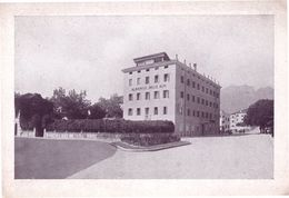 Belluno Albergo Delle Alpi Italian Hotel Old Postcard - Non Classés