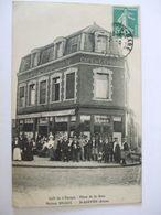 060620- 02 - CAFE DE L'EPOQUE - PLACE DE LA GARE - MAISON DECAUX -ST QUENTIN - Saint Quentin