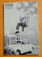DAMMARIE Les LYS -- CPM Publicitaire Laboratoires Valpan - Peugeot 203 - Turismo