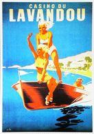LAVANDOU - Edition Clouet - CARTE POSTALE MODERNE (Reproduction D'affiche Ancienne André Bermond ) - Posters