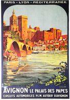AVIGNON  - Edition Clouet  - CARTE POSTALE MODERNE (Reproduction D'affiche Ancienne Roger Broders) - Posters