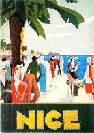 NICE - Edition La Cigogne - CARTE POSTALE MODERNE (Reproduction D'affiche Ancienne Lorenzi) - Posters