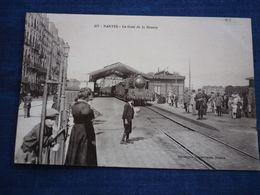 CPA: Nantes: La Gare De La Bourse/ Héliotypie Armoricaine, Nantes N°317 - Nantes