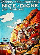TOUET Sur VAR  - Edition Nija Monaco - CARTE POSTALE MODERNE (Reproduction D'affiche Ancienne) - Posters