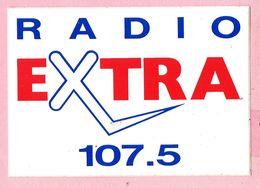 Sticker - RADIO - EXTRA 107.5 - Stickers