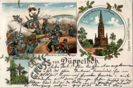 Gruss Von Düppelhöh - Litho - Danemark