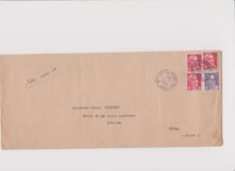LETTRE MISSIVE DEPART PARIS Pour  GUISE (AISNE) 1954 - Marcophilie (Lettres)