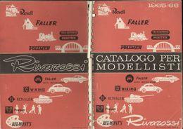 Catalogue RIVAROSSI 1965/66 Catalogo Per Modellisti Revell Roco Minitank - Boeken En Tijdschriften