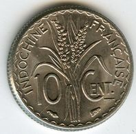Indochine Indochina France 10 Centimes 1940 Magnétique KM 21.1 - Colonies
