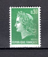 FRANCE  N° 1611b    NEUF SANS CHARNIERE  COTE 0.40€   MARIANNE DE CHEFFER - 1967-70 Maríanne De Cheffer