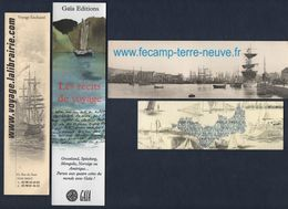 -305 - THEME  : BATEAU - LOT MARQUE PAGE - Bookmarks