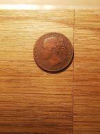 MONNAIE COIN GRANDE BRETAGNE VICTORIA FARTHING 1840 - B. 1 Farthing
