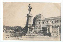 MADRID : Estatua De Moyano - Fototipia Lacoste N°138 - Madrid