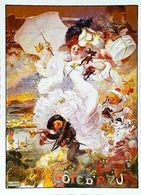 CÔTE D' AZUR Carnaval Edition Giletta  - CARTE POSTALE MODERNE (Reproduction D'affiche Ancienne Adolphe Willette) - Posters