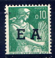 "ALGERIE - 359** - MOISSONNEUSE / ""E.A"" - Algeria (1962-...)"