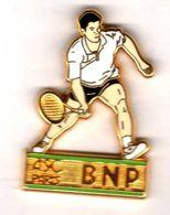 Pin's  Tennis ASC Paris BNP Zamac   Ballard - Tenis