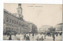 MADRID : Puerta Del Sol - Fototipia Lacoste N°54 - Madrid