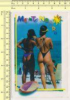1990s Pin Up - Sexy  Women On Beach Femmes Nue Sur La Plage Montenegro Stamp Yugoslavia  PHOTO POSTCARD  RPPC PC PPC - Pin-Ups