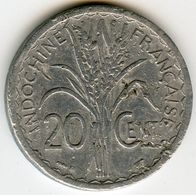 Indochine Indochina France 20 Centimes 1945 KM 29.1 - Colonies