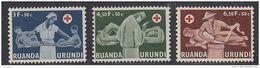 Ruanda-Urundi 1957  Rode Kruis 3w ** Mnh (47985F) - Ruanda-Urundi