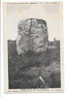 JULLOUVILLE BOUILLON (50) La Pierre Diable Menhir Pierre Druidique - Francia