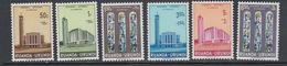 Ruanda-Urundi 1961 Kathedraal Usumbura 6v ** Mnh (47985G) - Ruanda-Urundi