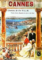 CANNES  - Edition Nugeron - CARTE POSTALE MODERNE (Reproduction D'affiche Ancienne A Robaudi) - Posters