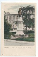 MADRID : Estatua Del Marques Viudo De Pontejos - Edicion Trenkler N°39 - Madrid