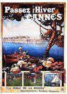CANNES  - Edition Gilletta - CARTE POSTALE MODERNE (Reproduction D'affiche Ancienne) - Posters