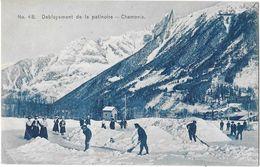 CHAMONIX (74) Déblayement De La Patinoire Animation - Chamonix-Mont-Blanc