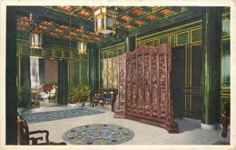 CPA Asie Chine Lobby Of The Laura Spelman House (nurses' Home) Peking Beijing Pékin Hartung's Photo Shop UMC - Chine