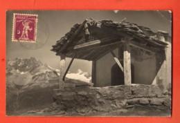 ZAO-35  Zermatt Bergkapelle Maria Z. Schnee Am Schwarzsee. Circulé 1930, Petit Pli Angle Sup. Droit - VS Valais