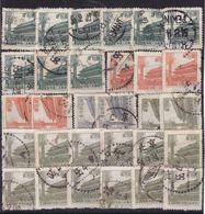 #Z.11986 PR China 1954 Incomplete Set Used, Michel 234, 235, 237: Tian An Men - 1949 - ... République Populaire