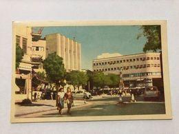 ISRAEL - TEL AVIV - 2nd NOVEMBER SQUARE   -  POSTCARD - 1956 - Israel