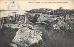Chausey - Le Port à Marée Basse - Maisons De Pêcheurs - Other Municipalities