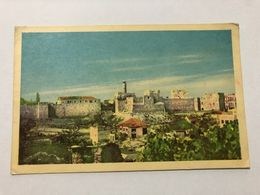 ISRAEL - JERUSALEM - CITADEL OF DAVID -  POSTCARD - 1954 - Israel