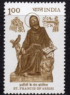 India 1983 800th Birth Anniversary Of St. Francis Of Assisi, MNH, SG 1083 (D) - Nuovi