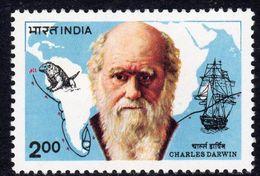 India 1983 Charles Darwin Death Centenary, MNH, SG 1085 (D) - Nuovi