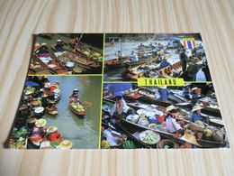 Thaïlande - The Floating Market. - Thailand