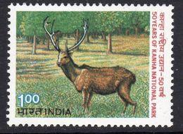 India 1983 50th Anniversary Of Kanha National Park, MNH, SG 1086 (D) - Nuovi